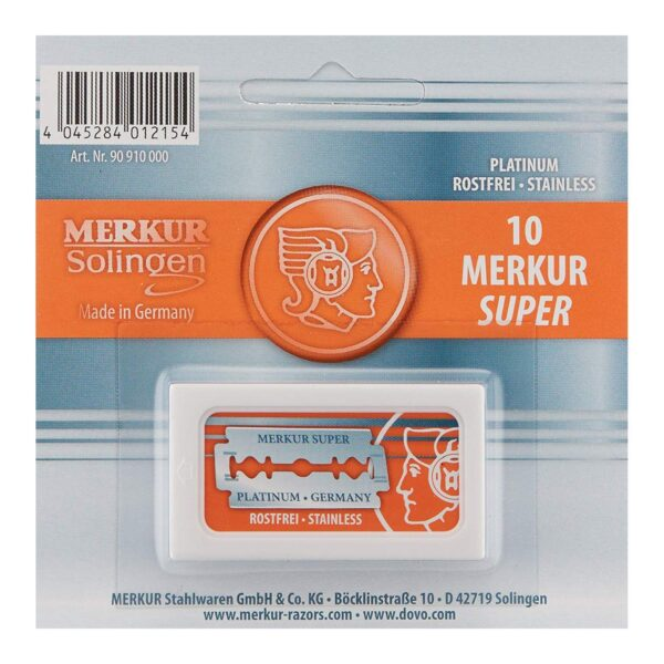 Merkur Double-Edged Safety Razor Blades