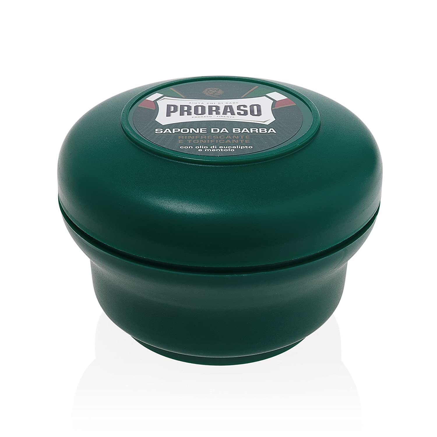 Proraso Green Shaving Soap with Eucalyptus and Menthol